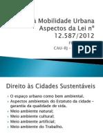 Direito a Mobilidade Urbana CauRJ
