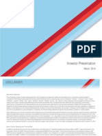 Investor Presentation March 2014_rev