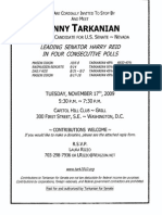 Meet & Greet for Danny Tarkanian