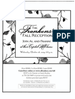 Frankens' Fall Reception for Al Franken