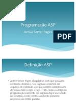 Programação ASP