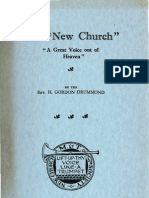 Henry Gordon Drummond The New Church a Great Voice out of Heaven New Church Press London 1933