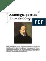 Antología Poética, Luis de Góngora