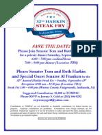 32nd Annual Harkin Steak Fry for Tom Harkin