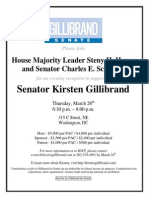 Fundraiser for Kirsten Gillibrand
