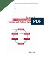 Manual de Gestión Del Ciclo Del Proyecto