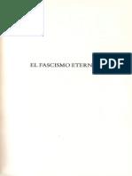 El Fascismo Eterno Por Umberto Eco