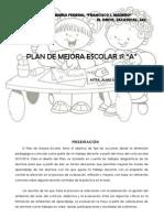 Plan Anual de Mejora Escolar