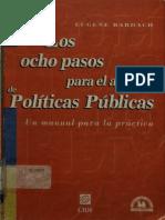 Los Ocho Pasos Para El Análisis de Políticas Públicas - Bardach