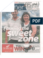 Waikato Times - Farming the Sweet Zone