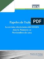 Papeles de Investigación 10 - Dossier Violencia, Cuerpos Femeninos y Dispositivos de Control