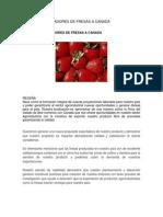 Fabrica Exportadores de Fresas a Canada