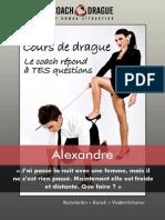 Cours De Drague - Le Coach De Drague Répond à Alexandre.pdf