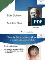 Max Scheler-Teoria de Los Val. 3