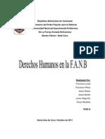 Derechos Humanos FANB