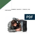 Manual de Mantenimiento Preventivo y Correctivo de PCS