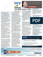 Pharmacy Daily for Thu 14 Aug 2014 - Call for QPIP phase 2 EOIs, $57,000 for Vic QUM pilot, Asthma deaths down, Free QCPP Refresher and much more