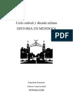 Ciclo Radical- Decada Infame en Mendoza