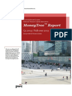 Pwc Moneytree q4 and Full Year 2013 Summary Report