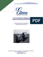 Gxp1200 Quickinstall Guide Es