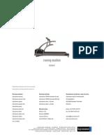 20080901 Cos14310m5-V1 04hpc-En Manual H-p-cosmos Running Machine St