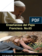 Enseñanzas del Papa Francisco - Nº 65.pps