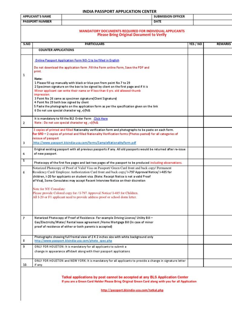 Bls us passport checklist notary public passport falaconquin