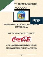 Coca-cola Martinez Canul Cynthia Jessica
