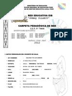 Carpeta Pedagogica 70606 2012