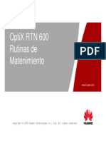 6.- OTF101202 OptiX RTN 600 Routine Maintenance ISSUE 1.01