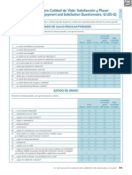 Cuestionario Calidad de Vida (Q-Les-Q)Satisfaccion y Placer