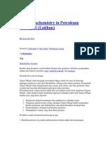 Basic Geochemistry in Petroleum Geology I