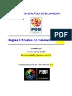 2014 Fiba Reglas Oficiales de Baloncesto