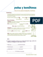 Guia de Palabras Homografas y Homofonas
