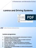 Control and Driving Systems 8