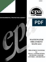 Water Treatment Manual Design