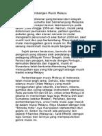 Sejarah Perkembangan Musik Melayu.