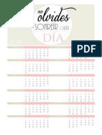 Calendarios 2014 Cm