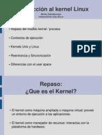 Presentacion Introduccion Kernel