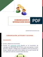 Clase 2. Comunicación e Interacción Social.