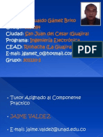 Telematica RC Jesualdo Gamez