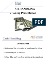 Cash Handling Powerpoint