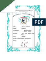 Informe de Quimica-Enalce Quimico