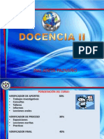 Presentacion Docencia II