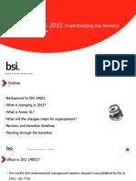 ISO 14001 Revision Webinar - JAN 2014