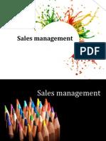 Sales Management introduction