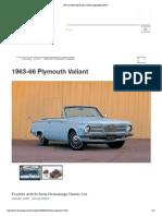 1963-66 Plymouth Valiant - Hemmings Motor News