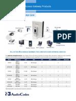 INFORMACION DEQUIPOS Residential Gateways Line Datasheet.pdf
