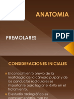 Anatomia Pre Molares 2012
