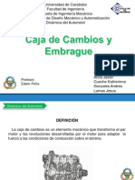 Diapositivas Cajas y Embragues